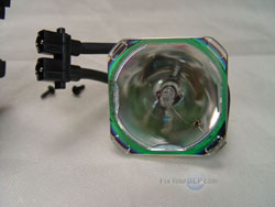 The Philips lamp removed from the JVC PK-CL120U Enclosure