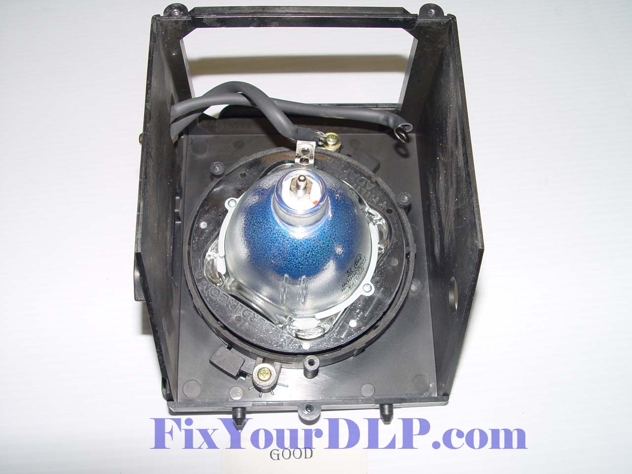 samsung tv lamp. samsung bp96-00608a replacement projection lcd lamp (original philips lamp) tv