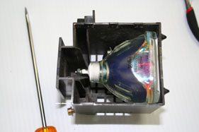 Sony XL-2100U Replacement Projection LCD Lamp (original Philips Lamp)