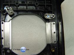 Mitsubishi-915P04910 Clips de sujecion de Lampara