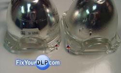 Mitsubishi 915P061010 Diferencias en Altura