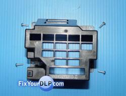 Panasonic TY-LA2006 CUBIERTA Y TORNILLOS