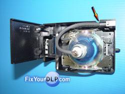 Panasonic TY-LA2006  Conector en su Sitio
