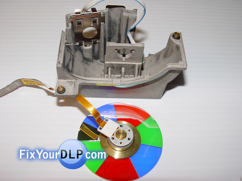 replacement of the samsung color wheel bp96-00674a - dlp lamp guide