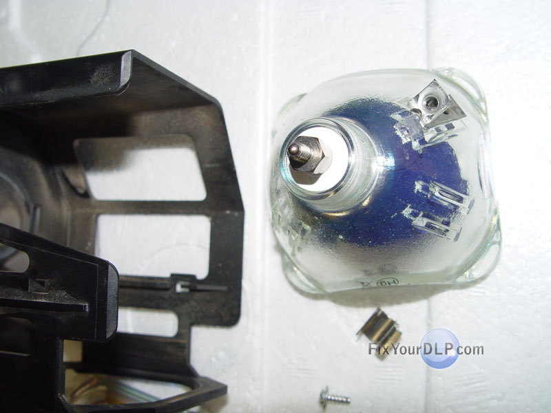 mitsubishi hc6800 lamp replacement instructions