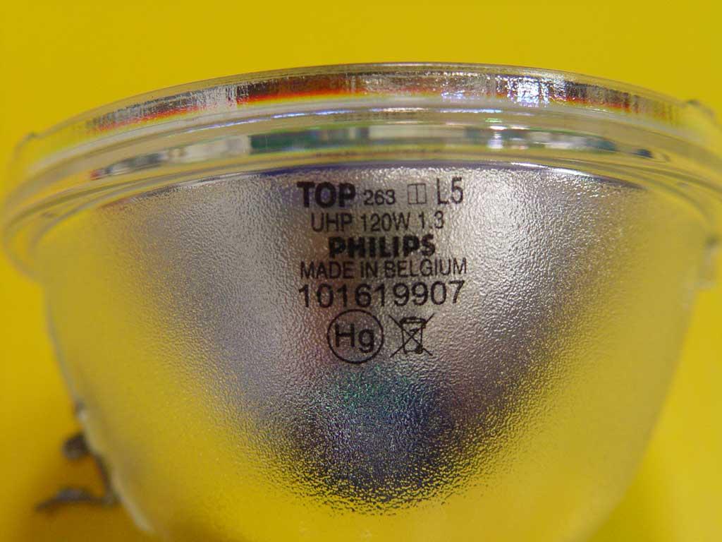 Philips 120W 1.3 UHP Lamp - OSRAM P-VIP 120 1.3 E23h - DLP Lamp ...