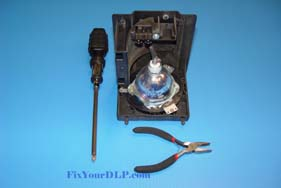 RCA 265103 260962 Replacement Projection LCD Lamp (original Philips Lamp)