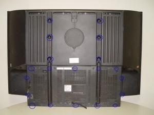 4719-001997 DLP Chip, Samsung 50A650C1FXZA RPTV