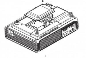 BenQ PB2240 lamp cover, BenQ 59.J9301.CG1