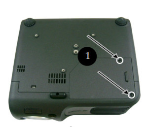 Acer-PD100_remove_cover_screws_Acer_EC-J2101-001_projector_lamp