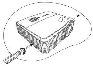 BenQ-_MW811ST_projector_BenQ 5J.J3K05_projector_lamp_remove_cover_screw