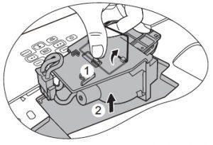 BenQ-_MW811ST_projector_BenQ 5J.J3K05_remove_old_projector_lamp