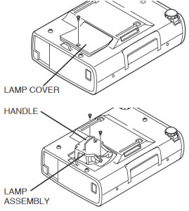 Boxlight_CP-33T_projector_change_Boxlight_CP13T-930_projector_lamp