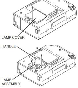 Boxlight_CP-13T_projector_change_Boxlight_CP13T-930_projector_lamp