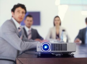 Business projectors are different from home theater projectors