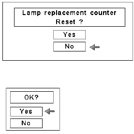 Canon_LV-7545_projector_reset_LV-LP28_projector_lamp_counter_confirm