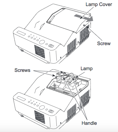 Canon_LV-8235_projector_lamp_replacement_Canon LV-LP36