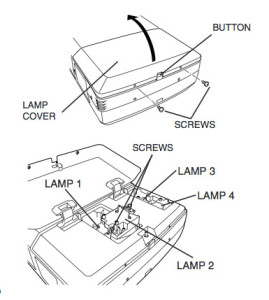 Christie_RoadRunner_LX10_projector_Christie_-03-000709-01P_replace_projector_lamp