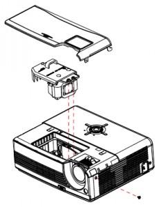 POA-LMP118 Lamp replacement Sanyo PDG-DSU20/DSU20N/DSU20E/DSU20B projector, POA-LMP118 (service part 610 337 1764)