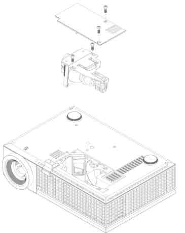 Dell_1609HD_projector_Dell_311-8943_725-1012_replace_projector_lamp