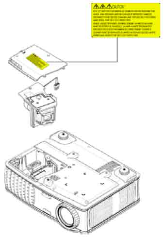 Dell_3400MP_projector_Dell_310-6747_replace_projector_lamp