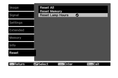 EH-TW6000_reset_lamp_timer