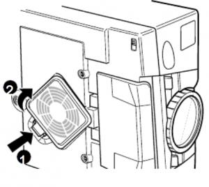 Epson_EMP-5500_clean_air_filter
