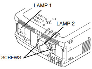 Eiki LC-X4_Eiki_POA-LMP39_replace_projector_lamp
