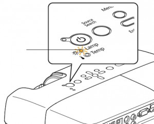 Epson-EB-S6-EB-X6-projector-warning-light-Epson-ELPLP41-lamp