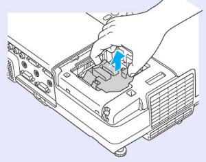 Epson-EB-400We-remove-lamp-Epson-ELPLP42-lamp