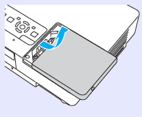 Epson_EMP-1700_remove_cover_Epson_ELPLP38