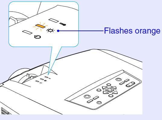 Epson_PowerLite 7950_Epson_ELPLP_22_replace_lamp_warning