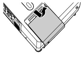 Epson_Powerlite--81p_loosen_lampcover_screws_Epson_ELPLP_30_lamp