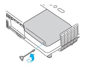 Epson-EX90-remove-lamp-Epson-ELPLP42-lamp