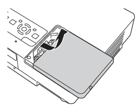 Epson_PowerLite_1710_remove_lamp_cover_Epson_ELPLP38