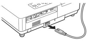 Epson_PowerLite_1505_unplug_projector_Epson_ELPLP38