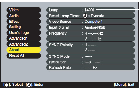 Epson_PowerLite_8300NL_ELPLP23_reset_projector_lamp_timer