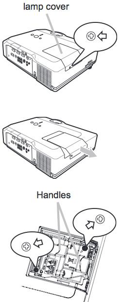 Hitachi_CP-X450_projector_change_Hitachi-DT00841_projector_lamp