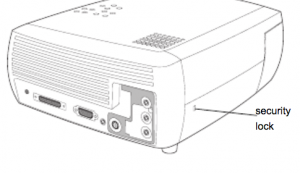 ImagePro-7300_projector_lamp_Dukane-456-7300_security_lock