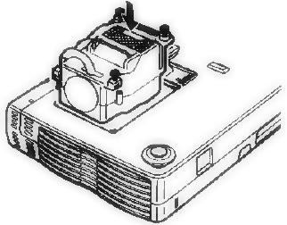 Knoll_HT201_projector_install_Knoll_28-631 lamp