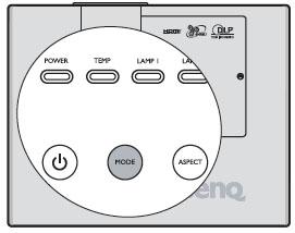 BenQ SP930P Lamp Mode, BenQ 5J.J2D05.001 lamp