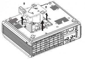 BenQ_PB7100_Lamp_Screws_Removed_BenQ_60.J5016.CB1_projector_lamp