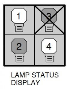 Sanyo PLC-XF40 projector, POA-LMP42  service part no 6102924831