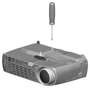 ASK DP-1000X lamp cover, ASK Proxima SP-LAMP-003