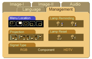 Menu_Control_Optoma_ThemeScene50_BL-FU200A