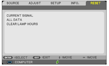 NEC_M282X_projector_lamp_NEC NP27LP_reset_hours