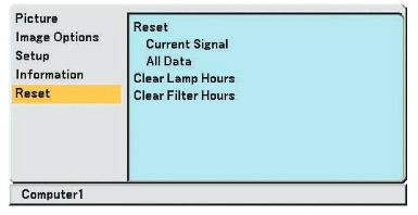 NEC_Projector_VT480_reset_NEC-VT85LP_lamp_timer-projector_lamp_cover