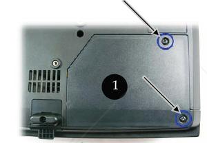 Optoma_EP7169MX_BL-FU180A_remove_projector_lamp_cover