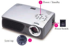 Optoma_EP753_projector_buttons_BL-200A_lamp