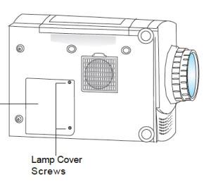 Optoma_EP_615H_Remove__Lamp_Cover_Replace_BL-FU150A